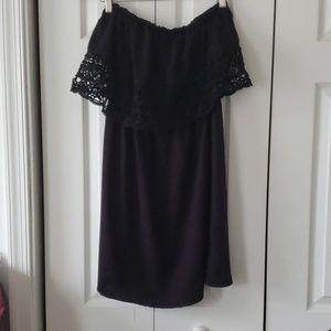 Exhilaration strapless dress